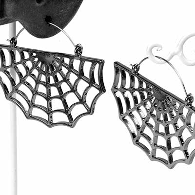 Wicked Web Earring