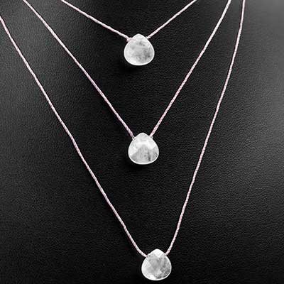 Quartz Gemstone Necklace