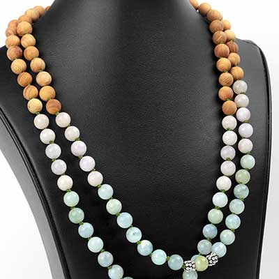Inner Strength Mala Necklace
