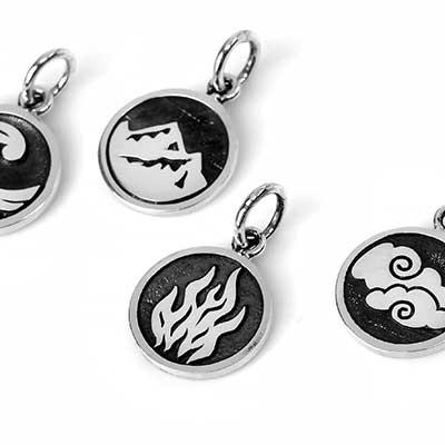 Silver Element Pendant