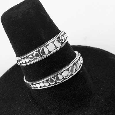 Silver Sequence Ring