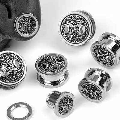Black Magic Steel Eyelets