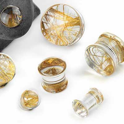 Gold Fiber Plugs