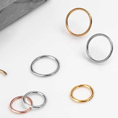 Steel Clicker Ring
