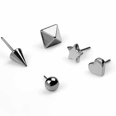 Shaped Threadless Ends