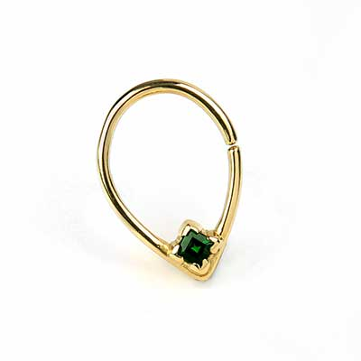 14K Gold Bombastic Seamless Ring