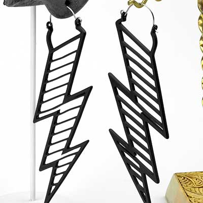 Shock to Your System Earrings