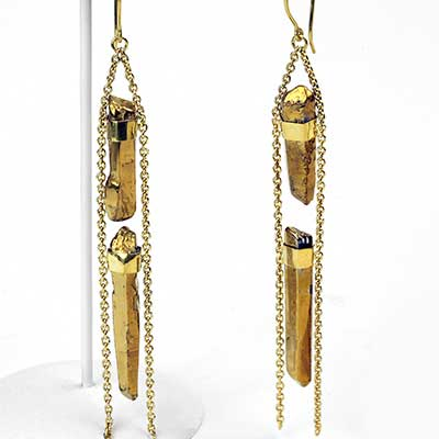 2 Chainz Hooks with Plated Quartz