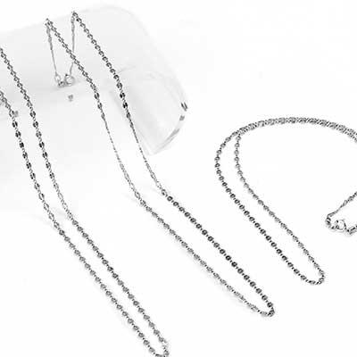 Sterling Silver Sunburst Chain