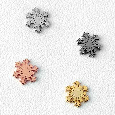 Snowflake Threadless End
