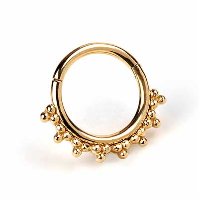 14K Gold Talia Clicker