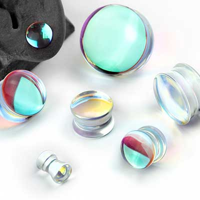 Glass Polaris Plugs