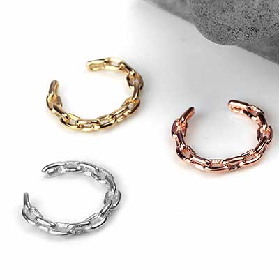 Chain Link Ear Cuff
