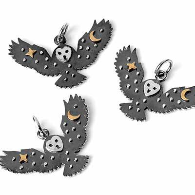 Soaring Owl Pendant