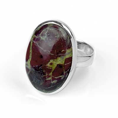 Dragon Bloodstone Ring