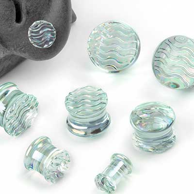 Glass New Wave Plugs