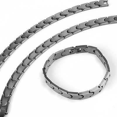 Brushed Steel Watch Chain Bracelet