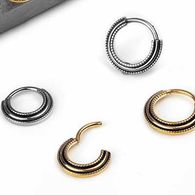 Steel Dual Lined Septum Clicker
