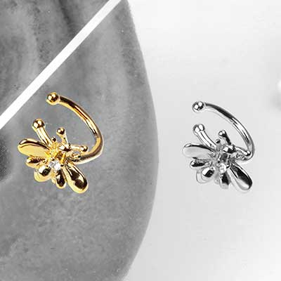 Bumble Bee Ear Cuff