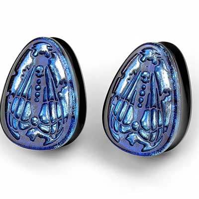 Glass Cicada Teardrops