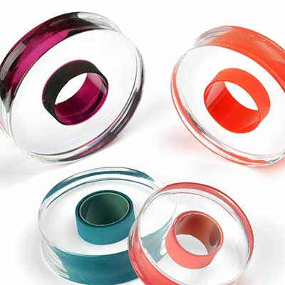 Glass Lifesaver Plugs