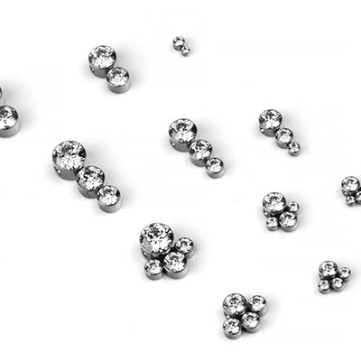 Titanium Bijoux Collection Captive Bead