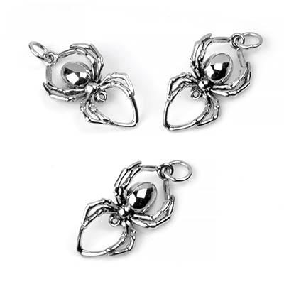 Silver Spider Pendant