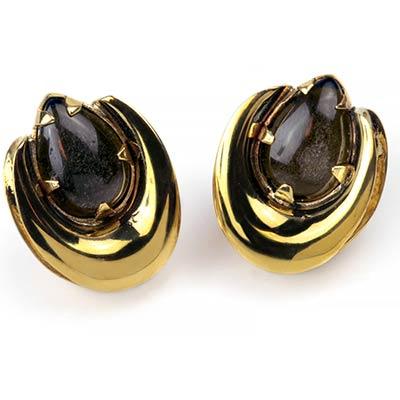 Brass Saddles with Golden Obsidian