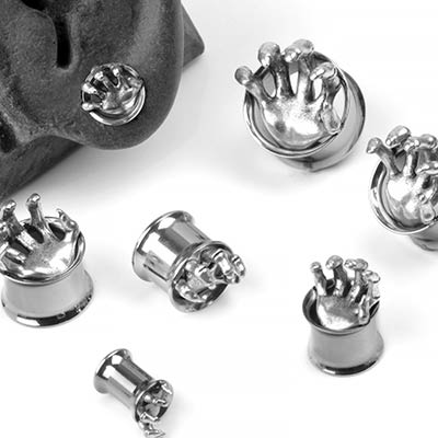 Steel Skeletal Hand Eyelets