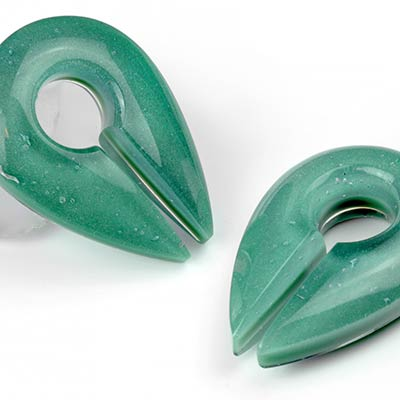 Glass Agave Keyhole Weights