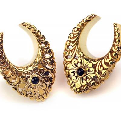 Fancy Brass Saddles