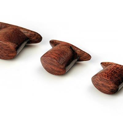 Oval Bloodwood Labret