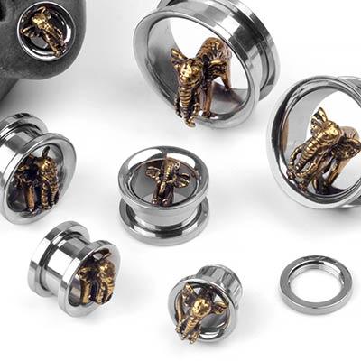 Steel Elephant Eyelets