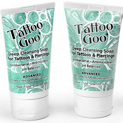 Tattoo Goo Deep Cleansing Soap for Tattoos and Piercings