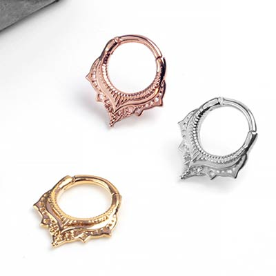 Lily Septum Clicker Ring