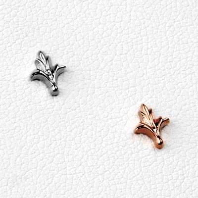 14K Gold Lush Threadless Ends