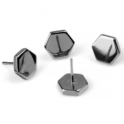 Titanium Hexagon Threadless End