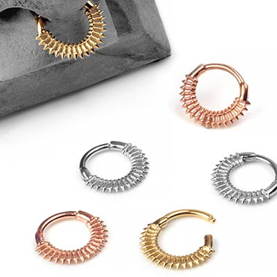 Fatale Septum Clicker Ring