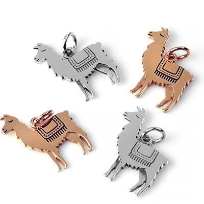 Dainty Llama Pendant