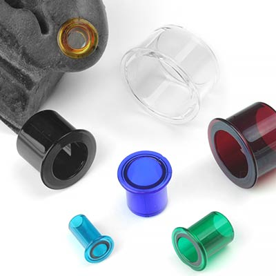 Glass Single Flare Eyelets