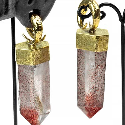 Brass and Crystal Bit Weights