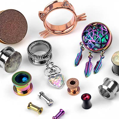 Assorted Metal Single Plugs Mystery Bag