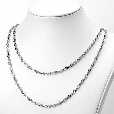 Stainless Steel Flat Rope Chain
