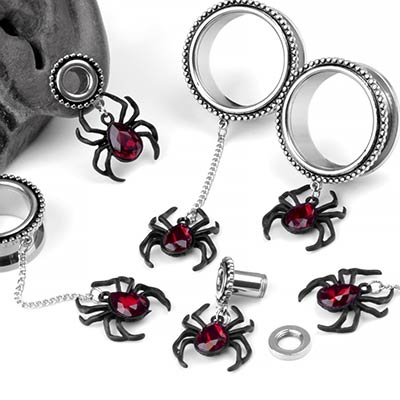 Steel Black Widow Eyelets