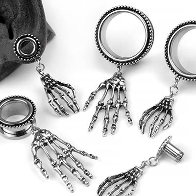 Steel Skeleton Hand Eyelets