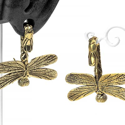 Brass Dragonfly Weights