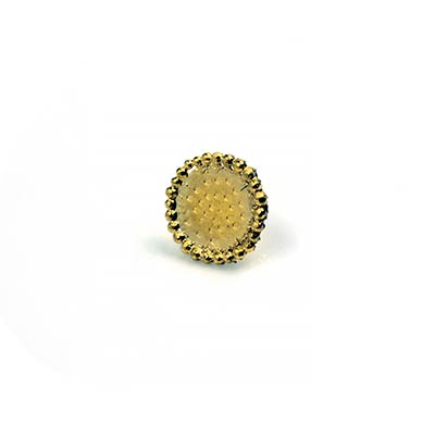 14k Gold Quorra Threadless End