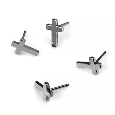 Titanium Cross Threadless End