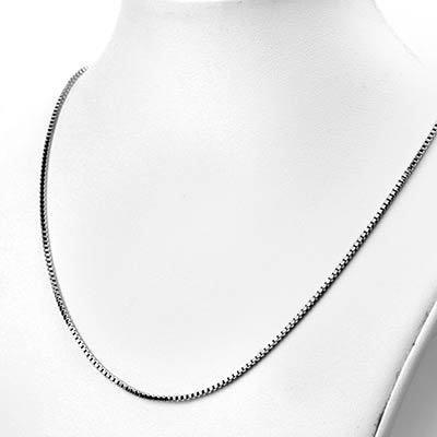Box Link Necklace Chain