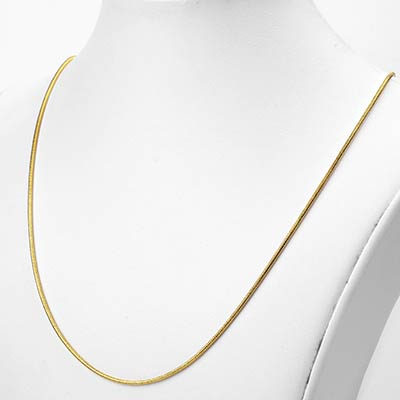 Golden Snake Necklace Chain